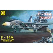 207204 Моделист Палубный самолет F-14A Томкэт, 1/72