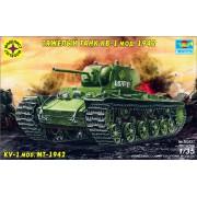 303527 Моделист Танк КВ-1 мод.1942 г., 1/35