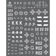 V35029 ПОБЕДА Ранняя маркировка германской бронетехники. Операция Барбаросса. ВОВ. Набор 1. 1/35