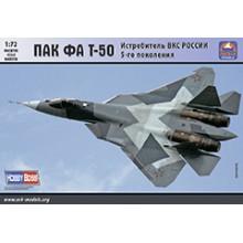 72041 ARK-models ПАК-ФА Т-50 Истребитель ВКС России 5-го поколения, 1/72