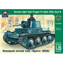 35003 ARK-models Немецкий лёгкий танк Прага Pz.Kpfw.38(t) Ausf.G, 1/35