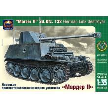35031 ARK-models Немецкая противотанковая самоходная установка Мардер II Sd.Kfz.132, 1/35