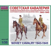 AVA35103 AVART ARHIVE Фигуры, Советская кавалерия 1943-1945, 1/35