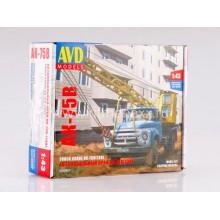 1098KIT AVD models Сборная модель Автокран АК-75В (на шасси ЗИЛ-130), 1961 г., 1/43