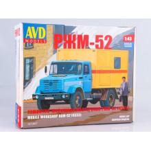 1213KIT AVD models Сборная модель Ремонтно жилищная мастерская РЖМ 52 (4333), 1/43