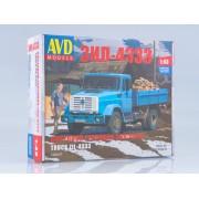 1260AVD AVD models Сборная модель ЗИЛ-4333 бортовой, 1/43