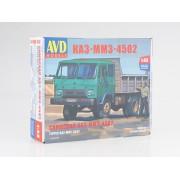 1324AVD AVD models Сборная модель КАЗ-ММЗ-4502 самосвал, 1/43