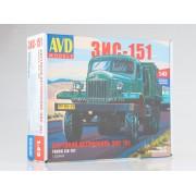 1332AVD AVD models ЗИС-151 бортовой, 1/43