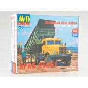 1342AVD AVD models  Сборная модель КрАЗ-256Б1 самосвал, 1/43