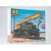1345AVD AVD models Сборная модель Автокран КС-3575 (255Б1), 1/43