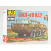 1357AVD AVD models Сборная модель Вездеход-амфибия ЗИЛ-49042, 1/43