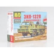 1359AVD AVD models Сборная модель Автомобиль-амфибия ЗИЛ-132П с двигателем ВК-1, 1/43