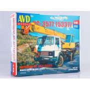 1367AVD AVD models Сборная модель Сборная модель Автокран КС-3577 (5337), 1/43