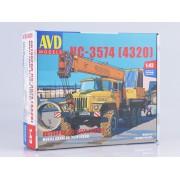 1368AVD AVD models Сборная модель Автокран КС-3574 (4320), 1/43