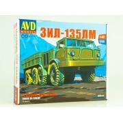 1416AVD AVD models Сборная модель ЗИЛ-135ЛМ бортовой, 1/43