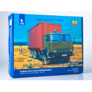1420AVD AVD models Сборная модель КАМАЗ-53212 контейнеровоз, 1/43