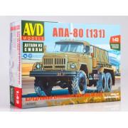 1425AVD AVD models Сборная модель Аэродромный пусковой агрегат АПА-80 (131), 1/43