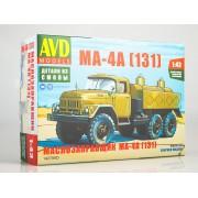 1427AVD AVD models Сборная модель Маслозаправщик МА-4А (131), 1/43