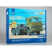 1456AVD AVD models Сборная модель КАМАЗ-65225 седельный тягач, 1/43