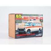 1464AVD AVD models Сборная модель Автомобиль ВАЗ-2131-05, 1/43