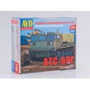 3007AVD AVD models Сборная модель Средний артиллерийский тягач АТС-59Г, 1/43