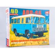 4019AVD AVD models Сборная модель Автобус повышенной проходимости АПП-66, 1/43