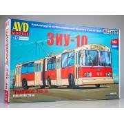 4024AVD AVD models Сборная модель ЗиУ-10 (ЗиУ-683) троллейбус, 1/43