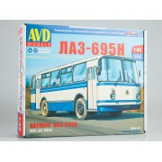 4029AVD AVD models Сборная модель ЛАЗ-695Н, 1/43