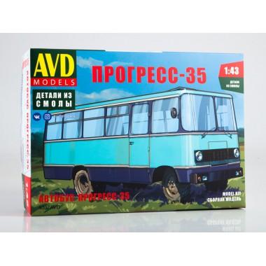 4037AVD AVD models Сборная модель Прогресс-35, 1/43