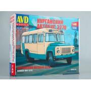 4038AVD AVD models Сборная модель КАВЗ-3270, 1/43