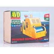 8003AVD AVD models Сборная модель Тротуарный виброкаток Д-455, 1/43