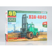 8010AVD AVD models Сборная модель Погрузчик ЛЗА-4045, 1/43