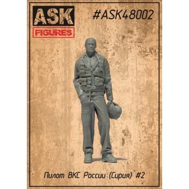 ASK48002 All Scale Kits (ASK) Пилот ВКС России N 2, 1/48