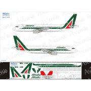 320-012 Ascensio Декаль на Airbus A320 Alitalia, 1/144