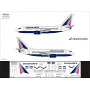 737-005 Ascensio Декаль на Boeing 737-700 Трансаэро Transaero, 1/144