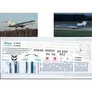 Т5М-050 Ascensio Декаль на ТУ-154М Baikal Airlines, 1/144