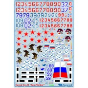 72-028 Begemot Декаль на Сухой СУ-33 Sea Flanker, 1/72