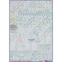 72-030 Begemot Декаль на СУ-27 Flanker family технические надписи, 1/72