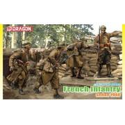6738 DRAGON Солдаты Французская пехота 1940, 1/35