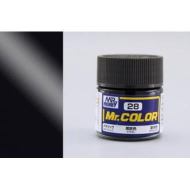 C28 Mr.Color Steel, металлик, 10 мл