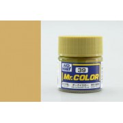 C39 Mr.Color DARK YELLOW (SANDY YELLOW), матовая, 10 мл