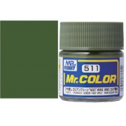 C511 Mr.Color RUSSIAN GREEN 4BO WWII, матовая 10 мл