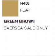 H402 Mr.Hobby GREEN BROWN (Зелёно-коричневая) акрил, матовая, 10 мл