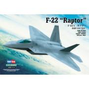 80210 Hobby Boss Самолет F-22A Raptor, 1/72