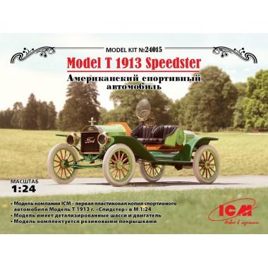 24015 ICM Model T 1913 Спидстер, Американский спортивный автомобиль, 1/24