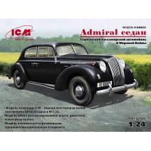 24023 ICM Admiral Седан, Германский пассажирский автомобиль 2 Мировой войны, 1/24