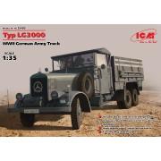 35405 ICM Typ LG3000, Германский армейский грузовик ІІ МВ, 1/35