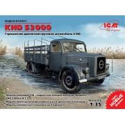 35451 ICM KHD S3000, Германский армейский грузовой автомобиль ІІ МВ, 1/35