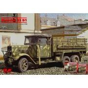 35466 ICM Hs 33 D1, немецкий грузовой автомобиль, 2МВ, 1/35