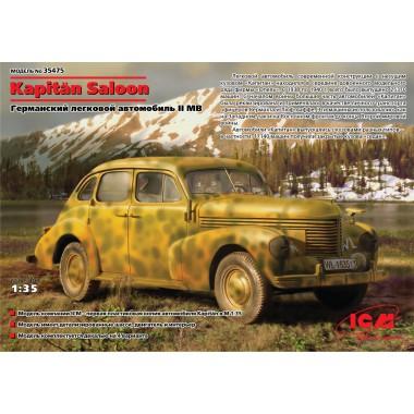 35475 ICM Капитан Салон П Седан, Второй мировой войны немецких легковой автомобиль, 1/35